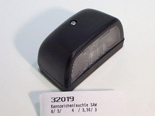 Kennzeichenleuchte Hella/SAW gross 32019 / Anhänger Ersatzteile Versand