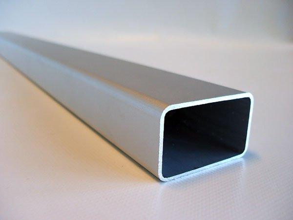 reling rohr f r kochanh nger eloxiert 127cm 50x30 mit r. Black Bedroom Furniture Sets. Home Design Ideas