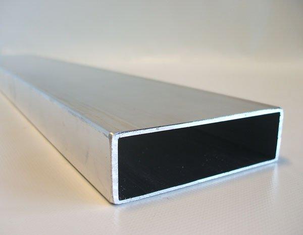 alu rechteckrohr mit 110x30 meterware anh nger ersatzteile versand. Black Bedroom Furniture Sets. Home Design Ideas
